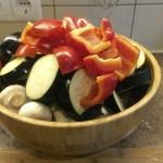 Вегетарианский шашлык или овощи на гриле