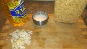 Для приготовления гороховой каши нужно совсем немного продуктов